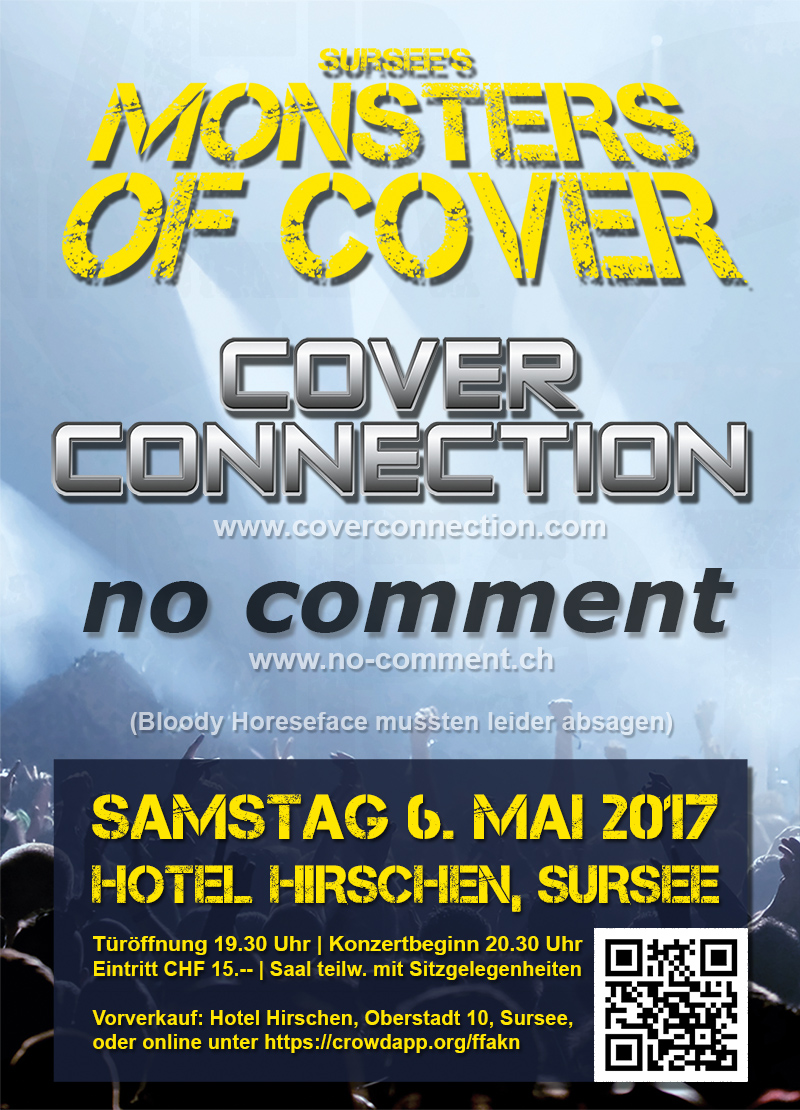 Monsters of Cover - Hotel Hirschen, Sursee